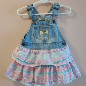 Oshkosh Toddler Denim Multicolour Dress